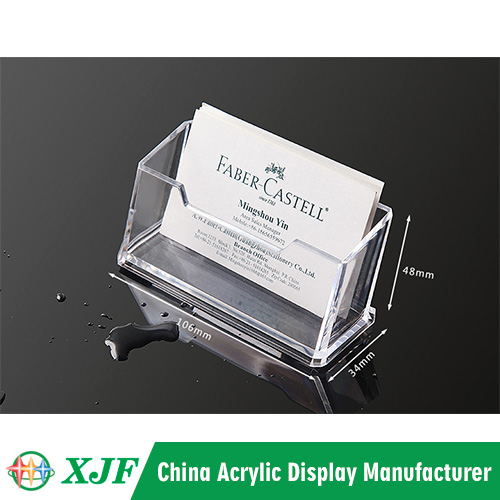 Acrylic Name Card Storage Holder Case Suppliers China Chinaxjf